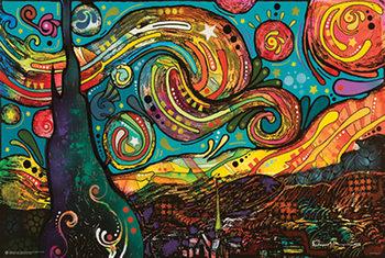 Dean Russo - Starry Night Pop Art Affiche