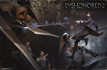 Dishonored 2 - Battle Affiche