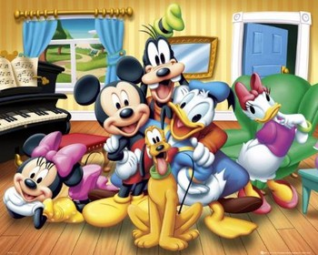 DISNEY - group Affiche