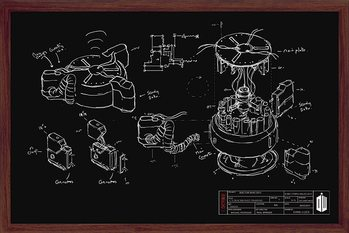 Doctor Who - Chalk Board Affiche