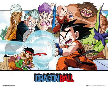 Dragon Ball - Landscape Affiche