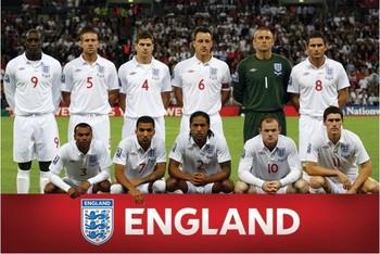 England - Team shot Affiche