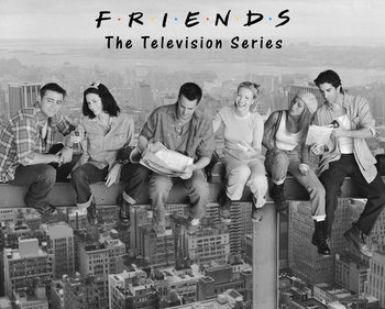 Friends - On Girder Affiche