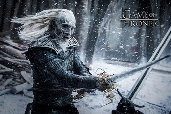 Game of Thrones - White Walker Affiche