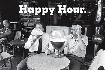 Happy Hour Affiche