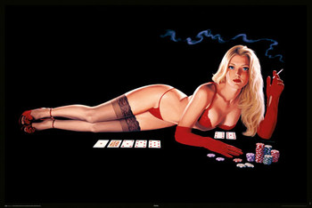 Hildebrandt - poker Affiche