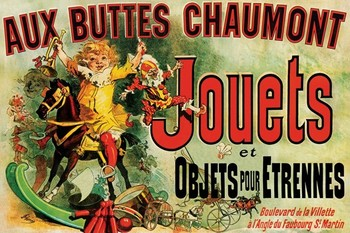 JOUETS - as seen on friends/toys Affiche