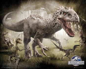 Jurassic World - Raptors Affiche