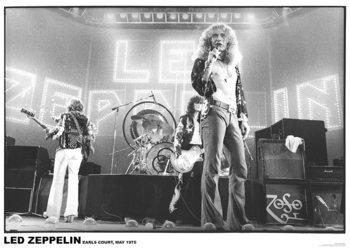 Led Zeppelin - Earls court Affiche