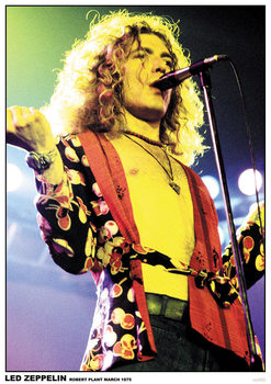 Led Zeppelin - Robert Plant March 1975 Affiche