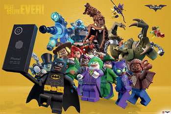 Lego Batman - Best Selfie Ever Affiche
