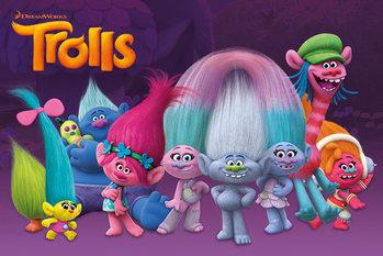 Les Trolls - Characters Affiche