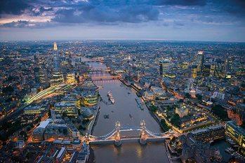 London - Jason Hawkes Affiche
