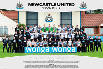 Newcastle United FC - Team Photo 13/14 Affiche
