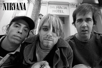 Nirvana - Band Affiche