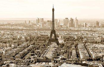 Paris - sepia Affiche