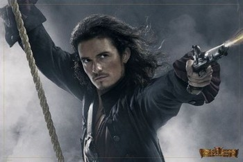 PIRATES OF CARIBBEAN - will rope Affiche