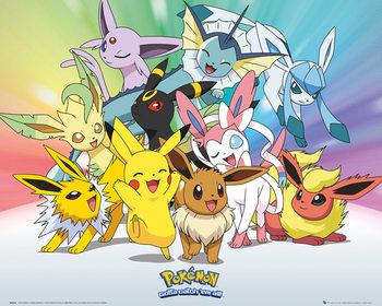 Pokemon - Eevee Affiche