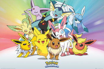 Pokemon - Eve Affiche