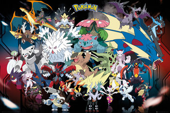 Pokémon - Mega Affiche