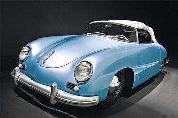 Porsche speedster - oldtimer Affiche