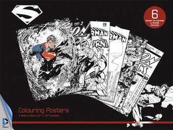 DC Comics - Superman Poster à colorier