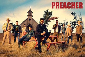 Preacher - Gruppe Affiche