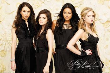 Pretty Little Liars - Black Dresses Affiche