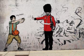 Prolifik Street Art - Royal Guard Affiche