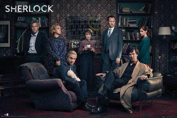 Sherlock - Cast Affiche