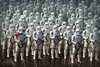 Star Wars, épisode VII : Le Réveil de la Force - Stormtrooper Army Affiche