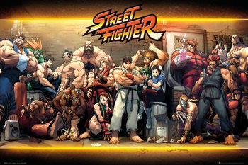 Street Fighter - Characters Affiche