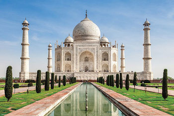 Taj Mahal - Inde Affiche