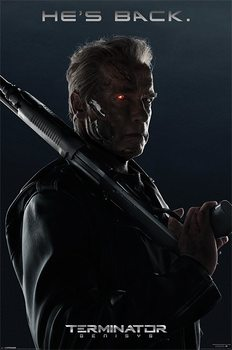 Terminator Genisys - He's Back Affiche