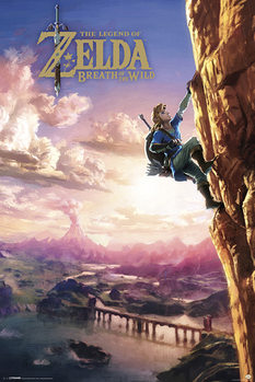 The Legend of Zelda - Breath Of The Wild Affiche
