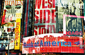 TIMES SQUARE NEON STORIES Affiche