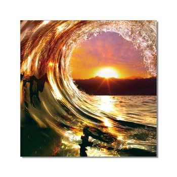 Arte moderna Falling Wave - Sunset