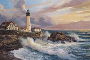 Impressão artística A Peaceful Horizon