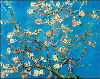 Impressão artística  Almond Blossom - The Blossoming Almond Tree, 1890