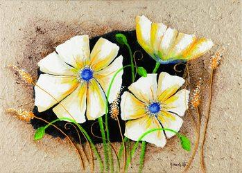 Impressão artística Anemone in frame