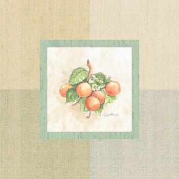 Impressão artística Apricots Inside