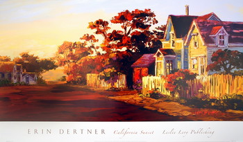 Impressão artística California Sunset