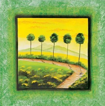Impressão artística Green Path