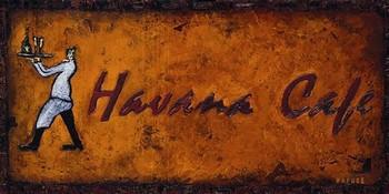 Impressão artística HAVANA CAFE