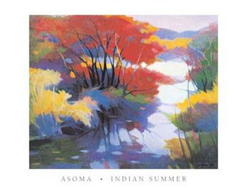 Impressão artística Indian Summer