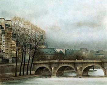 Impressão artística Le Pont Neuf