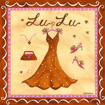 Impressão artística Lu Lu