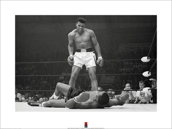 Impressão artística Muhammad Ali vs Liston