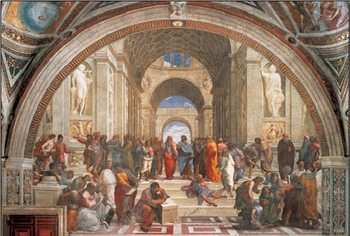 Arte Raphael Sanzio - The School of Athens, 1509