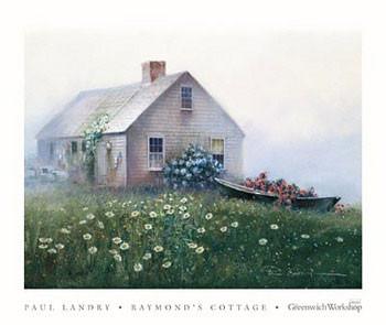 Impressão artística Raymond's Cottage